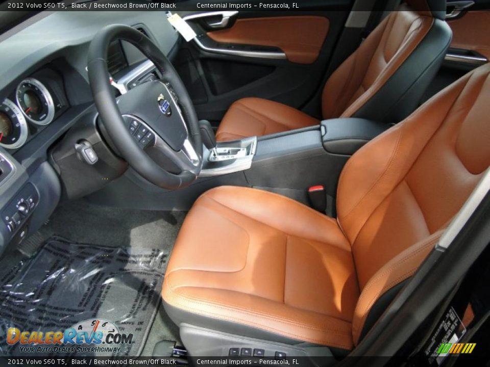 Beechwood Brown Off Black Interior 2012 Volvo S60 T5