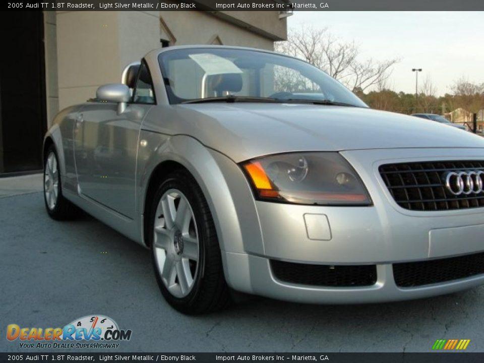 2005 Audi Tt 1 8t Roadster Light Silver Metallic Ebony