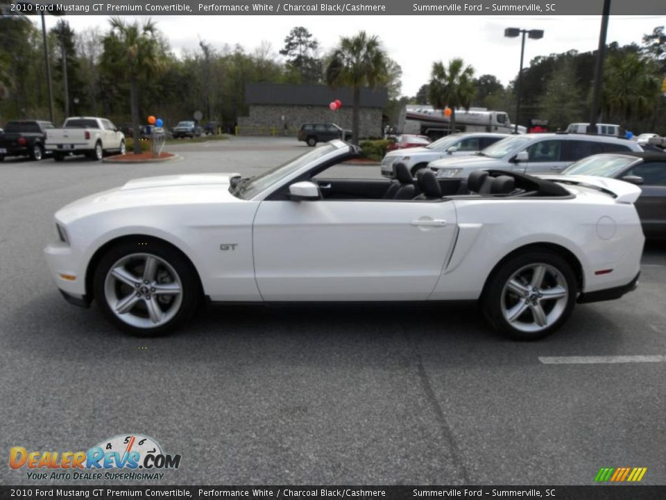 2010 ford mustang gt premium convertible performance white. Black Bedroom Furniture Sets. Home Design Ideas
