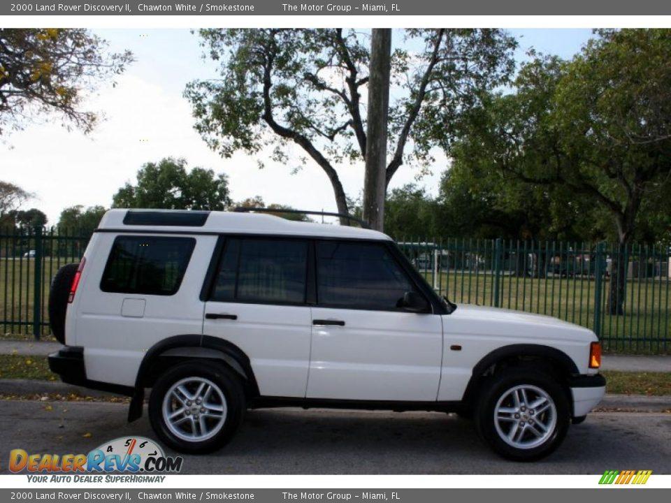 2000 Land Rover Discovery Ii Chawton White Smokestone