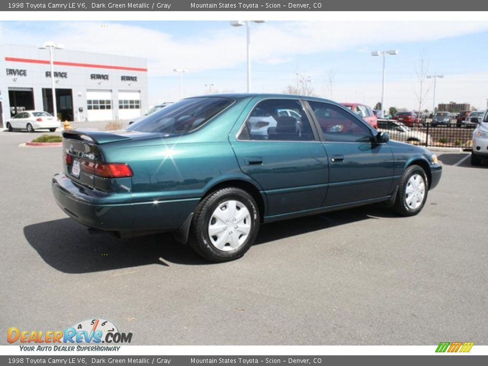 1998 toyota camry le v6 dark green metallic gray photo 2. Black Bedroom Furniture Sets. Home Design Ideas