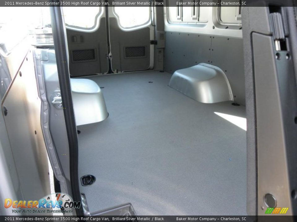 Black Interior 2011 Mercedes Benz Sprinter 3500 High