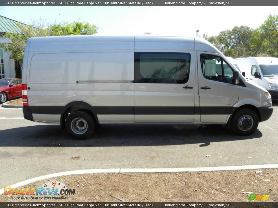 Brilliant silver metallic 2011 mercedes benz sprinter 3500 for Mercedes benz sprinter service