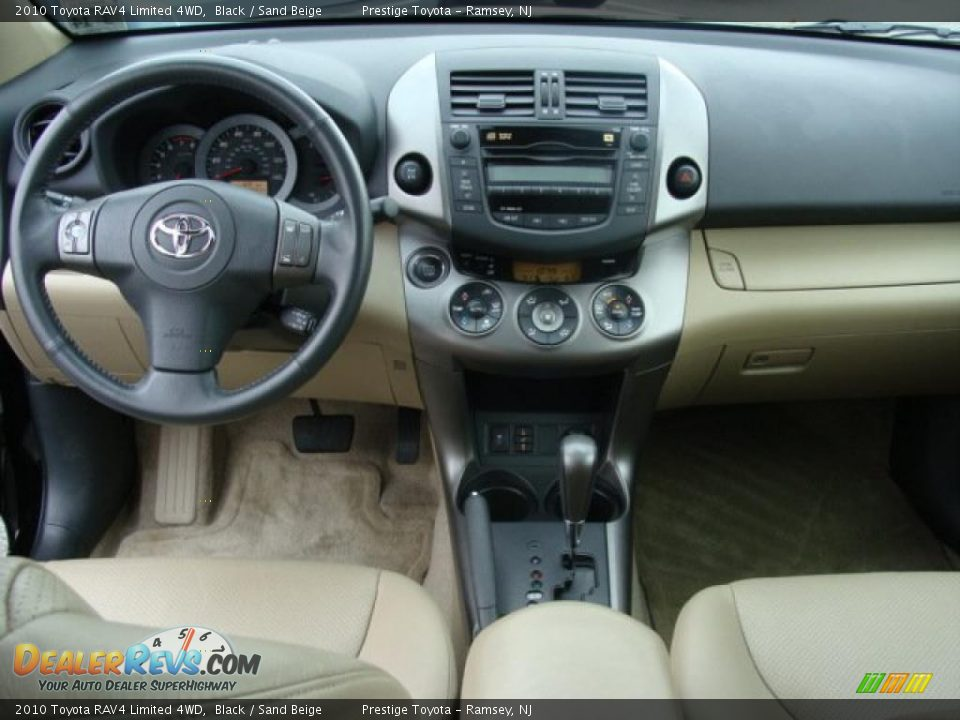 Dashboard Of 2010 Toyota Rav4 Limited 4wd Photo 9