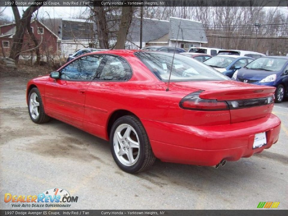 indy red 1997 dodge avenger es coupe photo 2. Black Bedroom Furniture Sets. Home Design Ideas