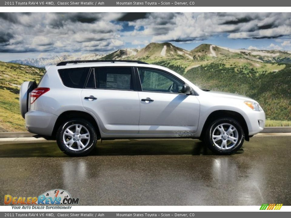 classic silver metallic 2011 toyota rav4 v6 4wd photo 2. Black Bedroom Furniture Sets. Home Design Ideas