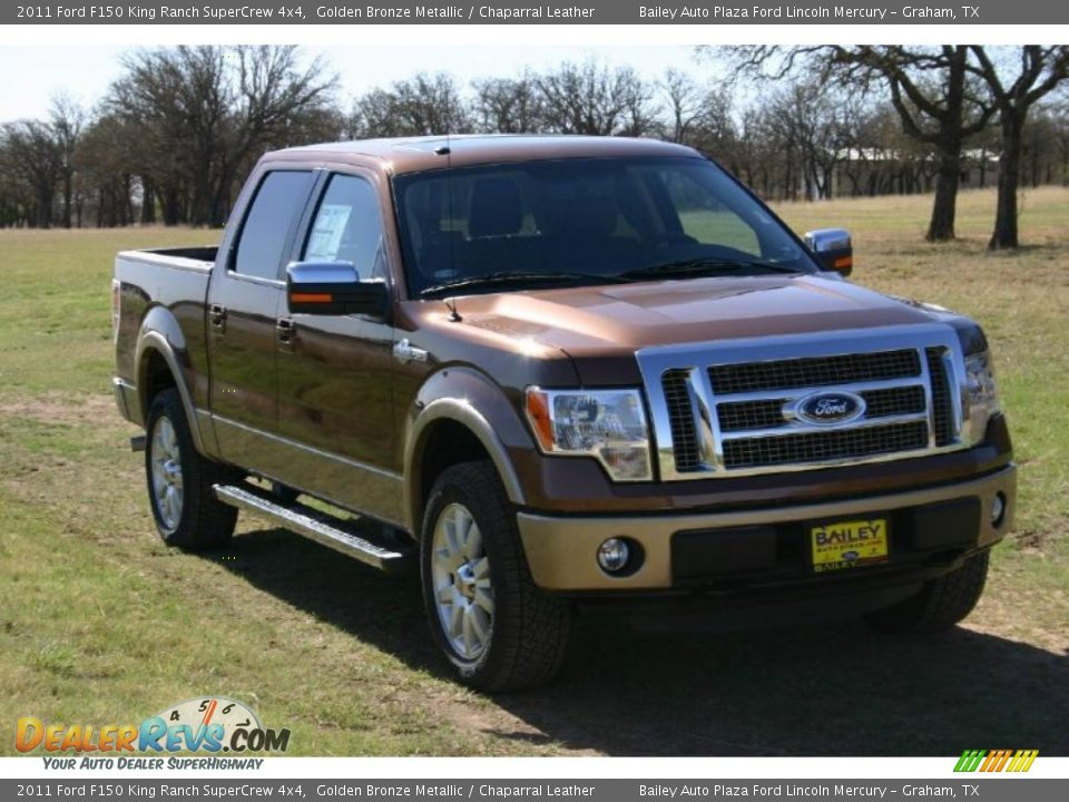 2011 ford f150 king ranch supercrew 4x4 golden bronze metallic chaparral leather photo 2. Black Bedroom Furniture Sets. Home Design Ideas