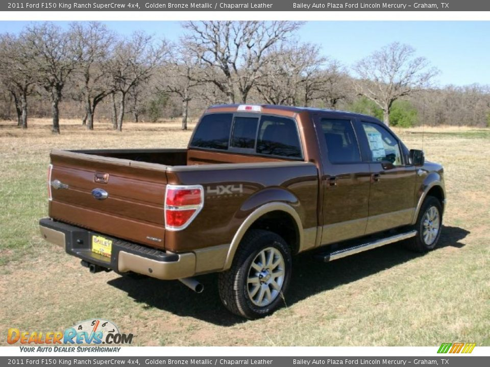 2011 ford f150 king ranch supercrew 4x4 golden bronze metallic chaparral leather photo 4. Black Bedroom Furniture Sets. Home Design Ideas