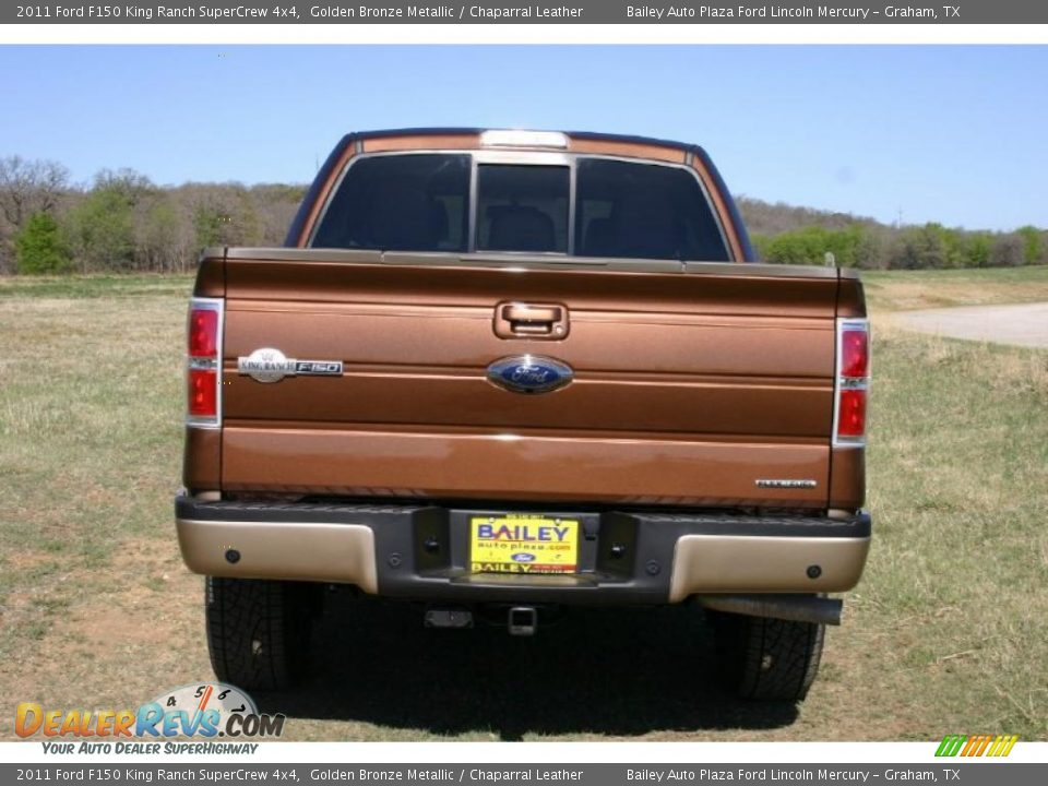 2011 ford f150 king ranch supercrew 4x4 golden bronze metallic chaparral leather photo 5. Black Bedroom Furniture Sets. Home Design Ideas