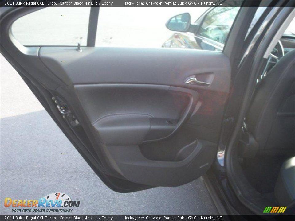 2011 Buick Regal Cxl Turbo Carbon Black Metallic Ebony