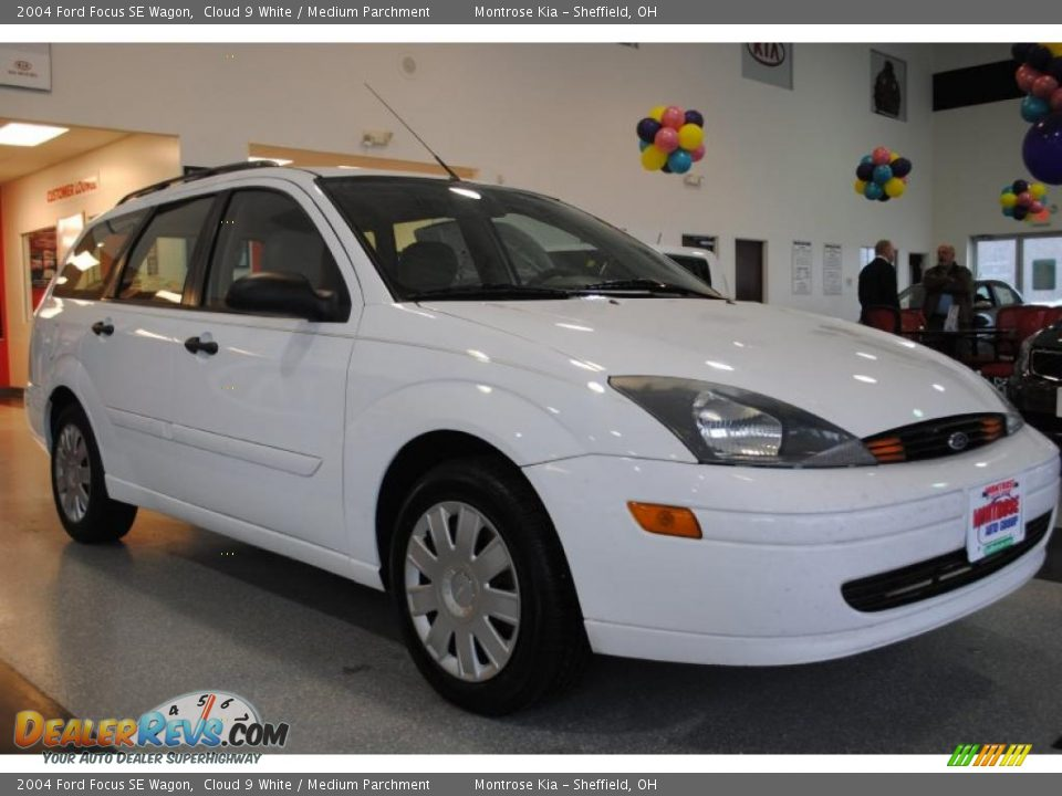 2004 ford focus se wagon cloud 9 white medium parchment. Black Bedroom Furniture Sets. Home Design Ideas