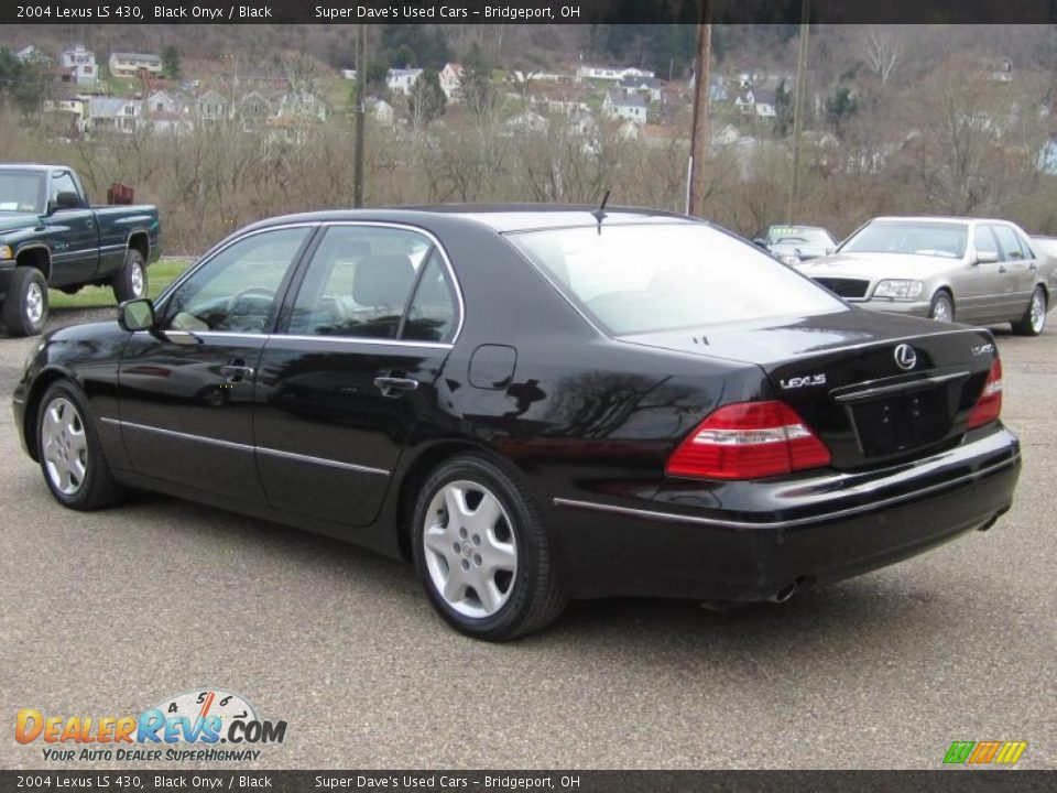 2004 Lexus Ls 430 Black Onyx Black Photo 5 Dealerrevs Com