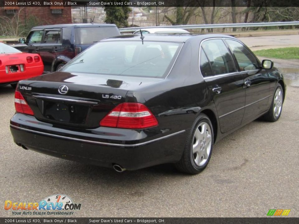 2004 Lexus Ls 430 Black Onyx Black Photo 8 Dealerrevs Com