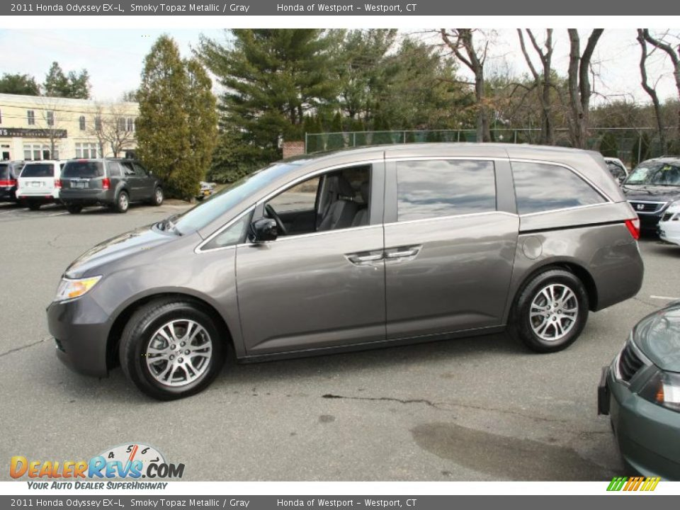 Smoky Topaz Metallic 2011 Honda Odyssey Ex L Photo 11 Dealerrevs Com