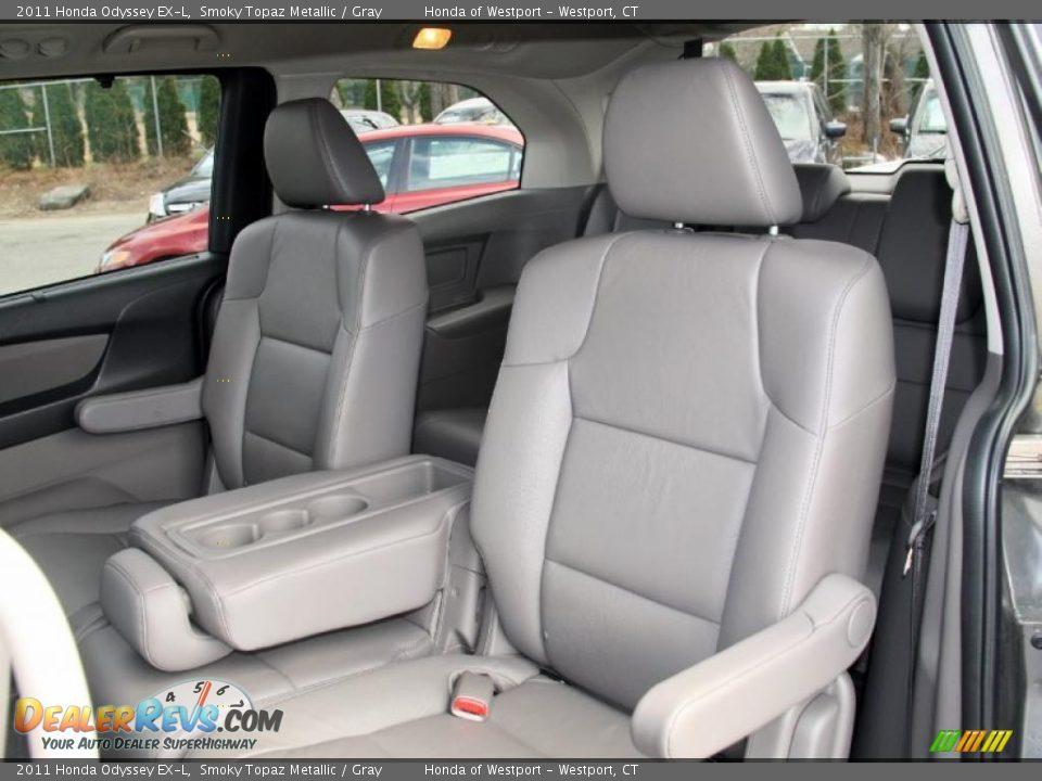 Gray Interior 2011 Honda Odyssey Ex L Photo 15 Dealerrevs Com