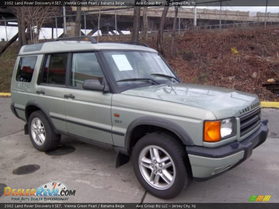 vienna green pearl 2002 land rover discovery ii se7 photo 3. Black Bedroom Furniture Sets. Home Design Ideas