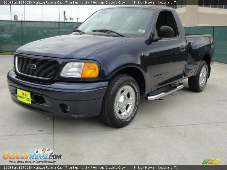 2004 ford f150 stx heritage regular cab true blue metallic. Black Bedroom Furniture Sets. Home Design Ideas
