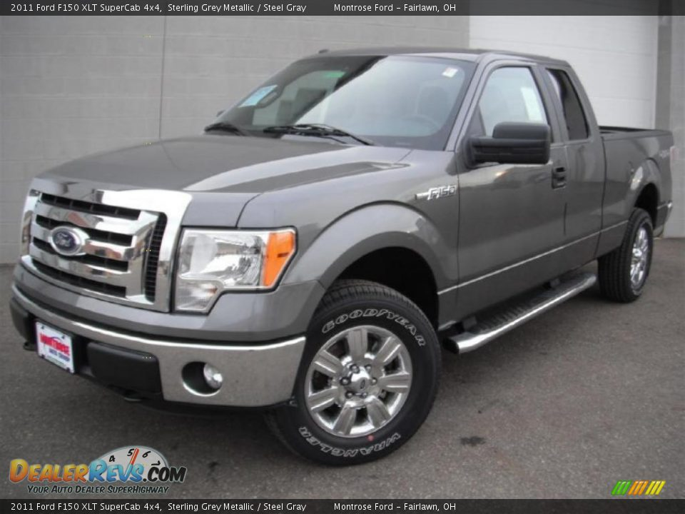 2011 ford f150 xlt supercab 4x4 sterling grey metallic steel gray photo 1. Black Bedroom Furniture Sets. Home Design Ideas