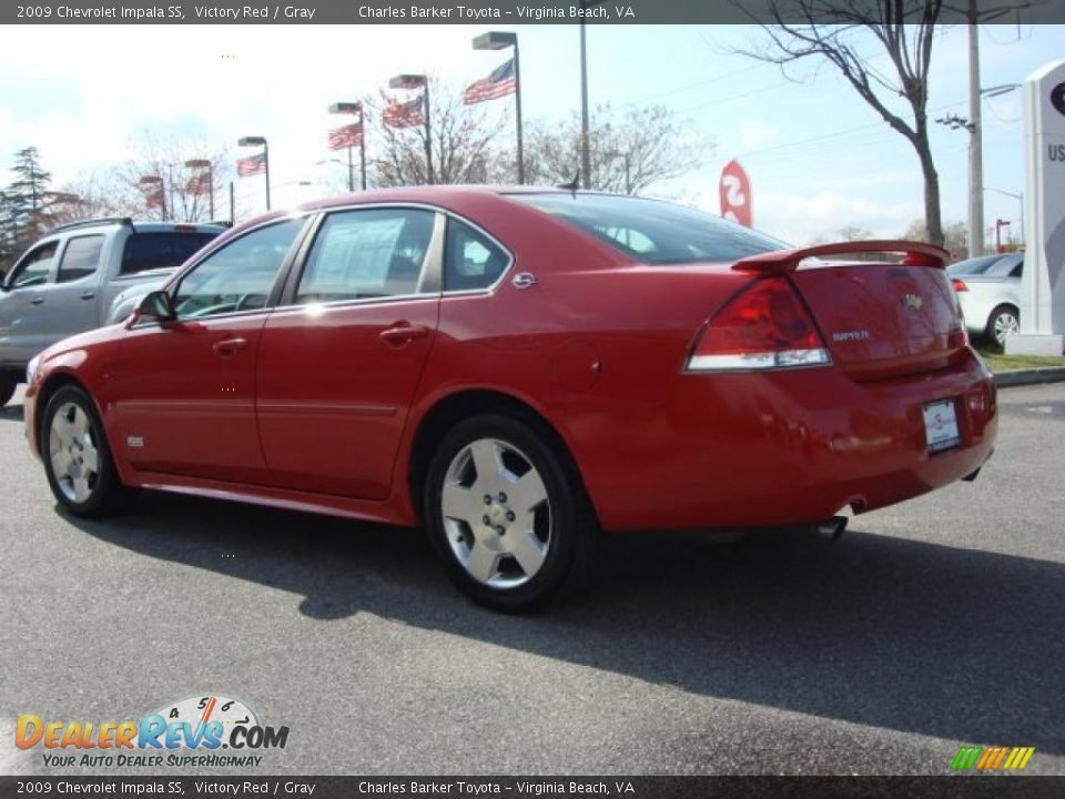 2009 chevrolet impala ss victory red gray photo 4. Black Bedroom Furniture Sets. Home Design Ideas