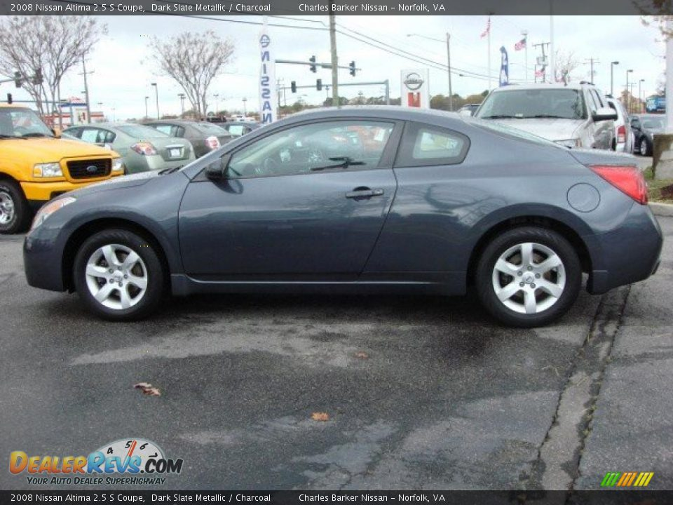 2008 nissan altima 2 5 s coupe dark slate metallic charcoal photo 7. Black Bedroom Furniture Sets. Home Design Ideas