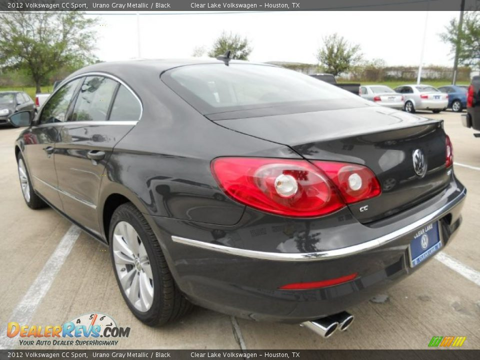 2012 volkswagen cc sport urano gray metallic black photo 5. Black Bedroom Furniture Sets. Home Design Ideas