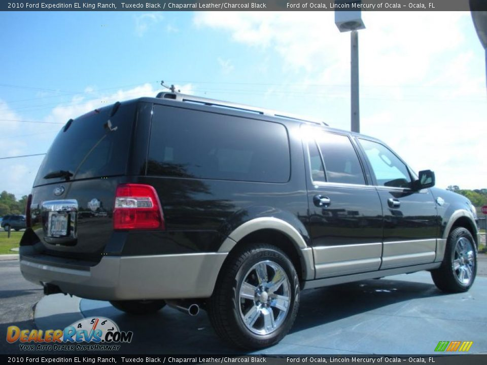2010 ford expedition el king ranch tuxedo black. Black Bedroom Furniture Sets. Home Design Ideas
