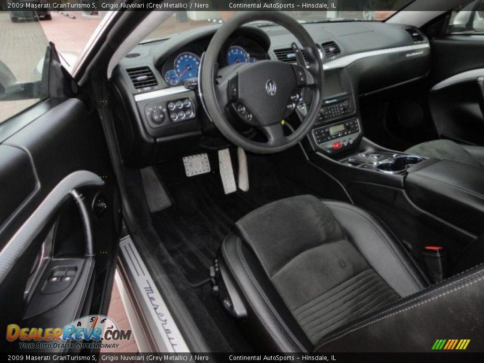 Nero interior 2009 maserati granturismo s photo 16 for Maserati granturismo s interieur