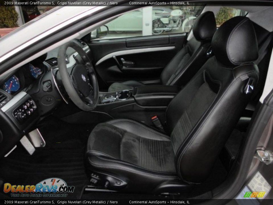Nero interior 2009 maserati granturismo s photo 17 for Maserati granturismo s interieur