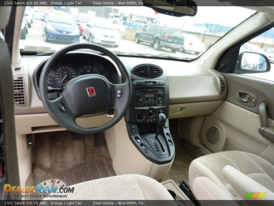 light tan interior 2002 saturn vue v6 awd photo 10. Black Bedroom Furniture Sets. Home Design Ideas