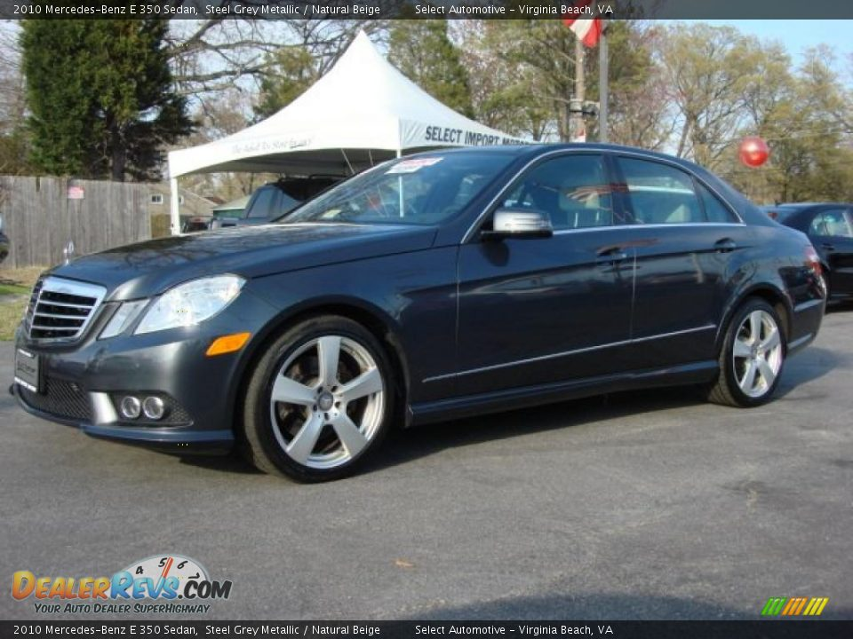 2010 mercedes benz e 350 sedan steel grey metallic for 2010 mercedes benz e350 sedan