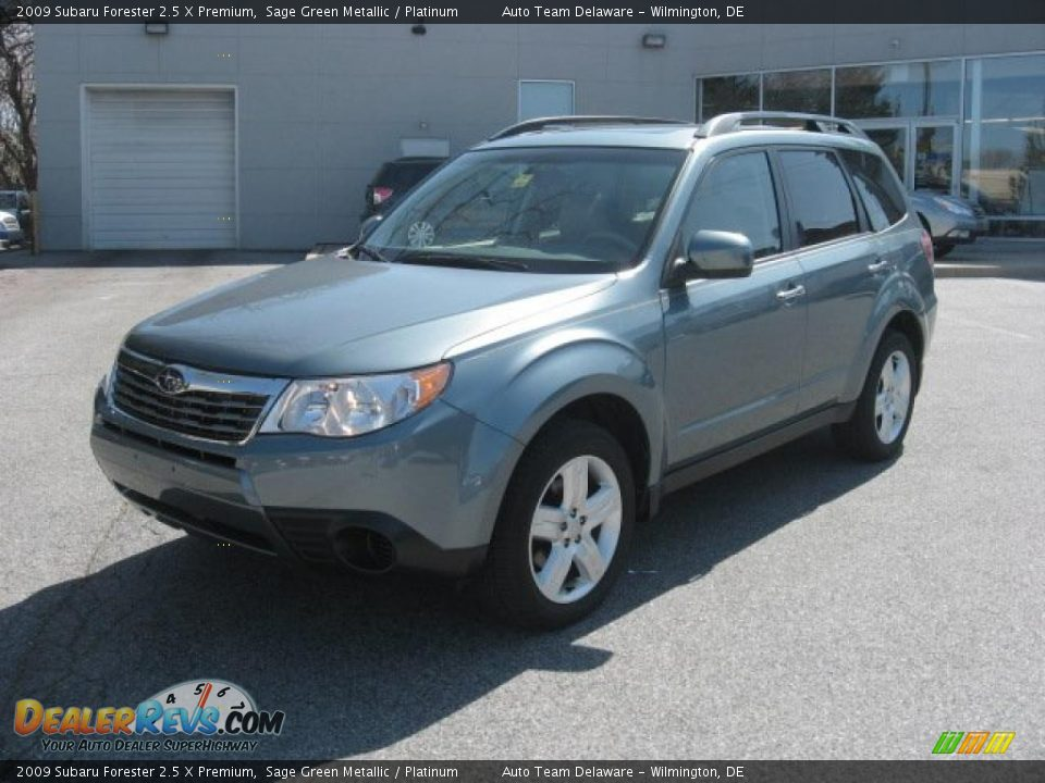 front 3 4 view of 2009 subaru forester 2 5 x premium photo 2. Black Bedroom Furniture Sets. Home Design Ideas