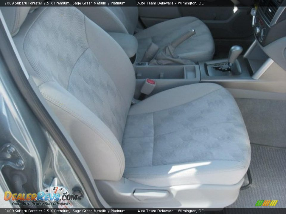 Platinum Interior 2009 Subaru Forester 2 5 X Premium Photo 17