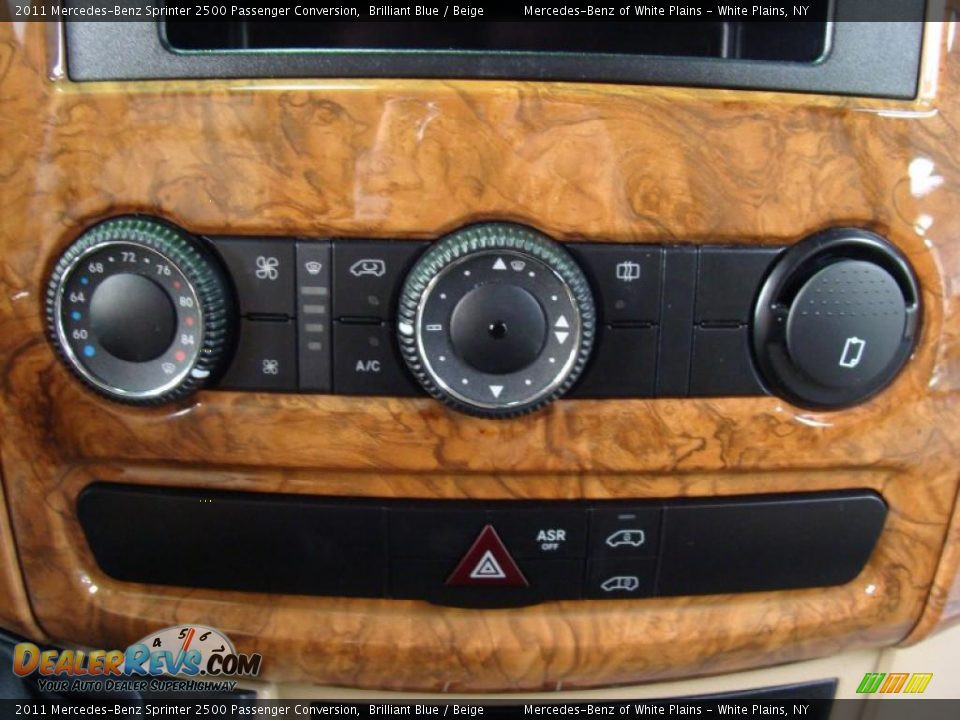 Controls Of 2011 Mercedes Benz Sprinter 2500 Passenger