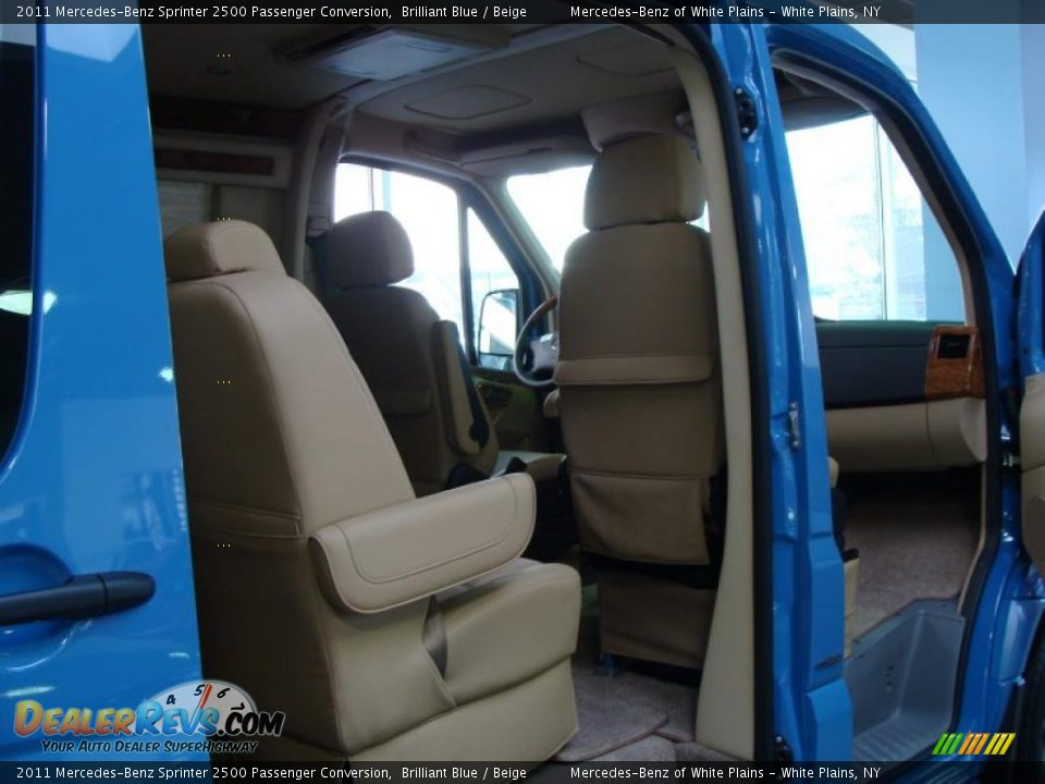 Beige Interior 2011 Mercedes Benz Sprinter 2500