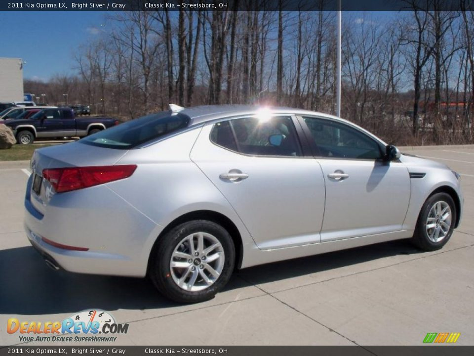 Bright Silver 2011 Kia Optima LX Photo #6 | DealerRevs.com