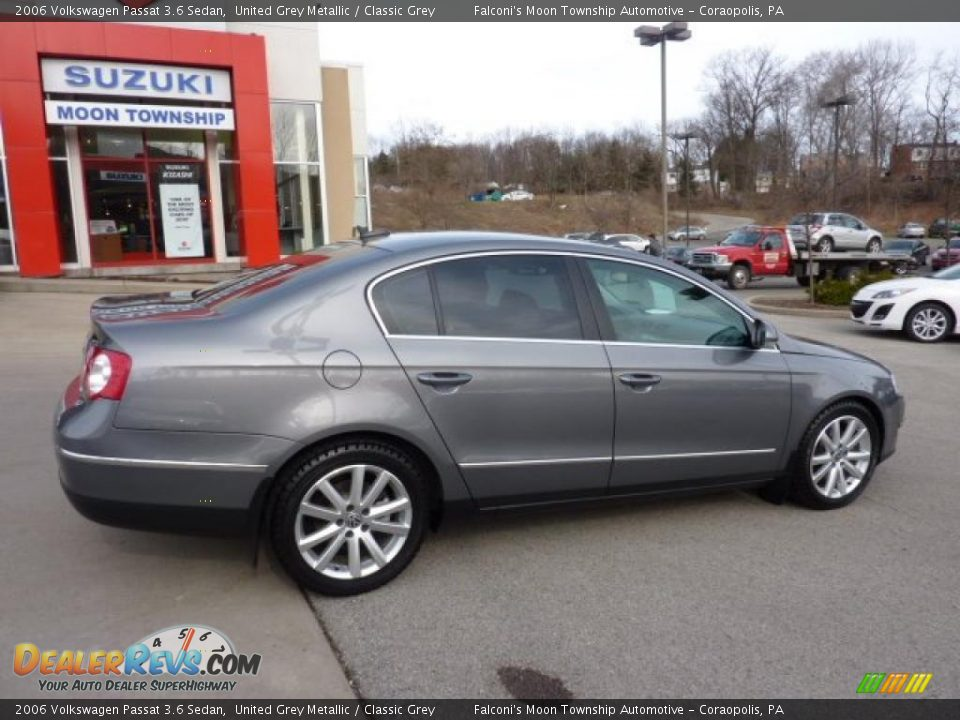 2006 volkswagen passat 3 6 sedan united grey metallic. Black Bedroom Furniture Sets. Home Design Ideas