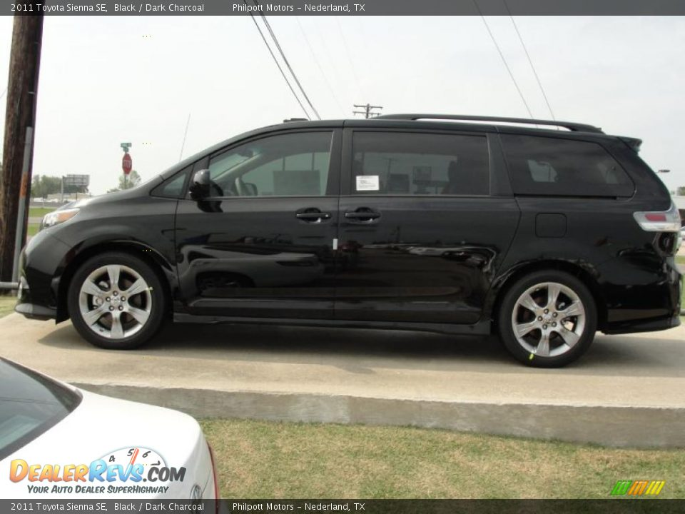 2011 toyota sienna se black dark charcoal photo 6. Black Bedroom Furniture Sets. Home Design Ideas