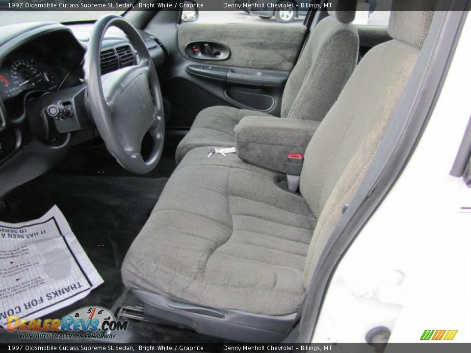 graphite interior 1997 oldsmobile cutlass supreme sl sedan photo 10 dealerrevs com dealerrevs com