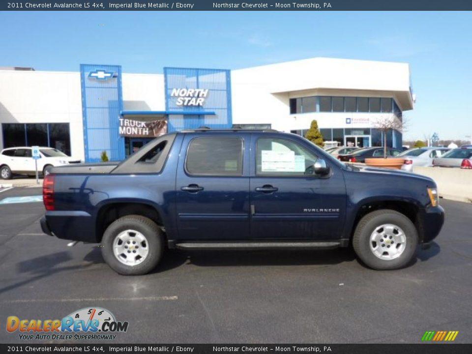 2011 Chevrolet Avalanche LS 4x4 Imperial Blue Metallic ...