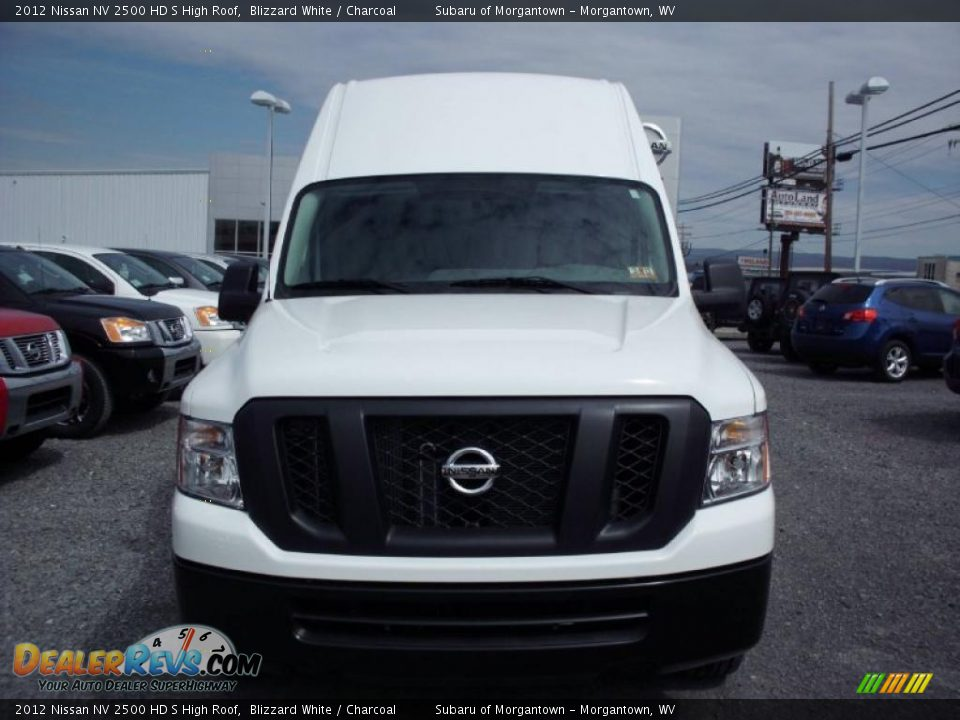 2012 nissan nv 2500 hd s high roof blizzard white charcoal photo 11. Black Bedroom Furniture Sets. Home Design Ideas