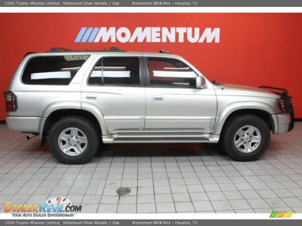 2000 Toyota 4runner Limited Millennium Silver Metallic