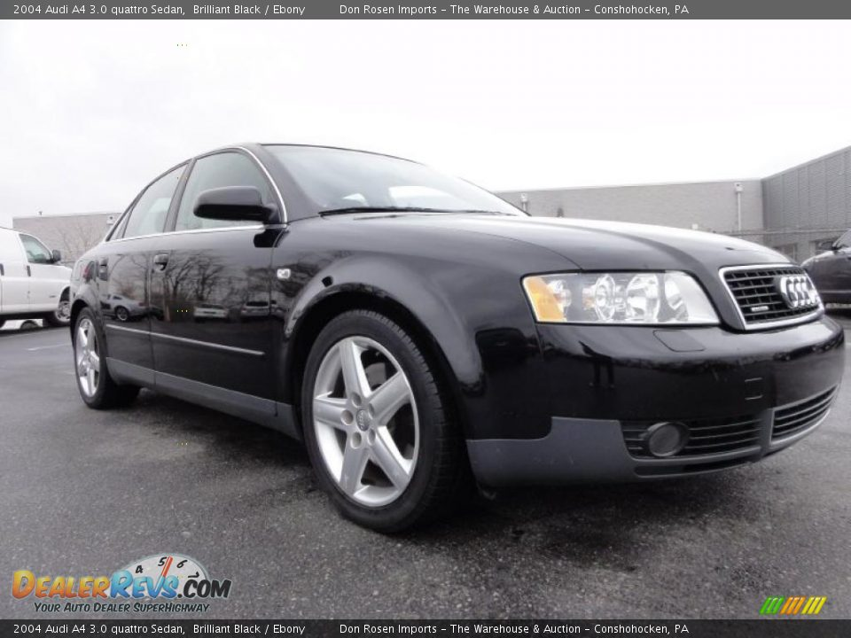 brilliant black 2004 audi a4 3 0 quattro sedan photo 5. Black Bedroom Furniture Sets. Home Design Ideas