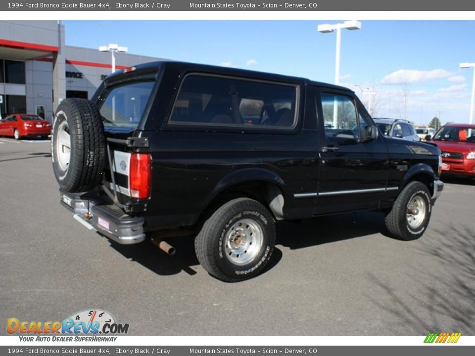ebony black 1994 ford bronco eddie bauer 4x4 photo 2. Black Bedroom Furniture Sets. Home Design Ideas