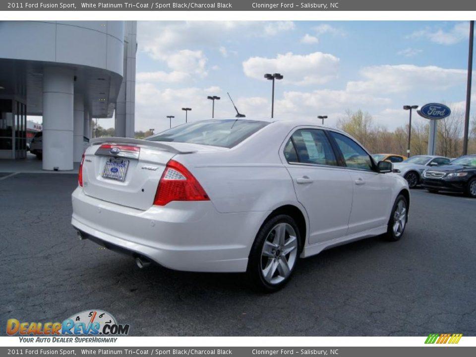 White Platinum Tri-Coat 2011 Ford Fusion Sport Photo #3 | DealerRevs ...