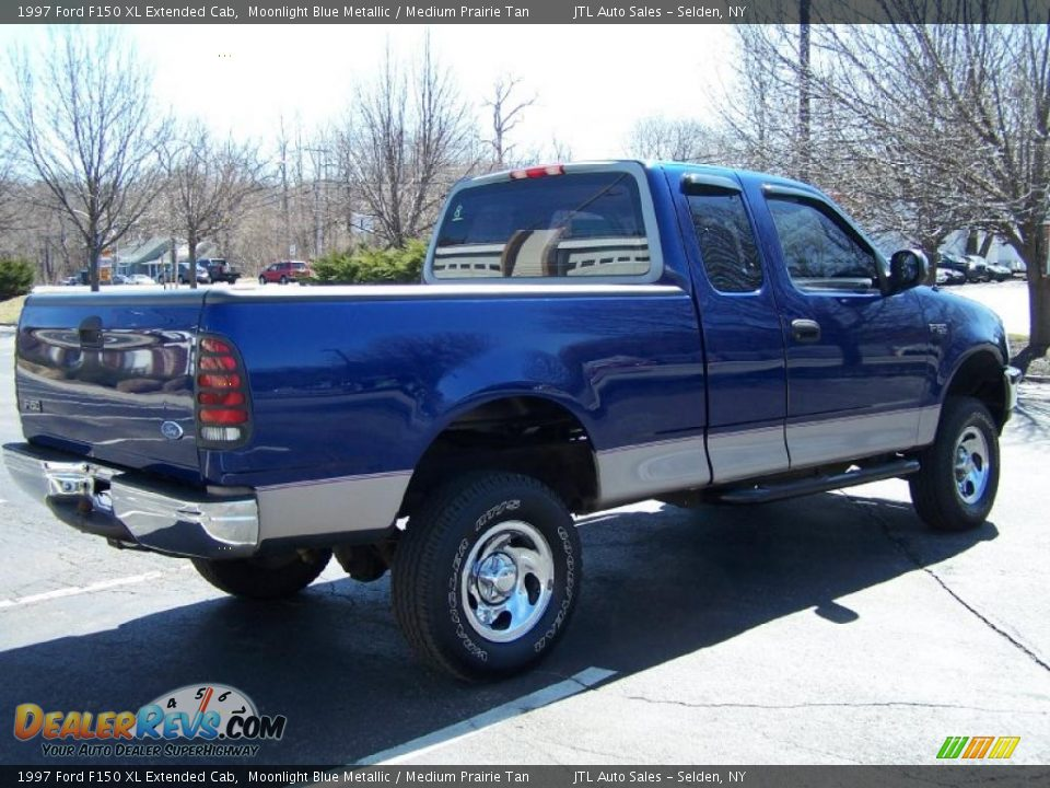 1997 ford f150 xl extended cab moonlight blue metallic medium prairie tan photo 6. Black Bedroom Furniture Sets. Home Design Ideas