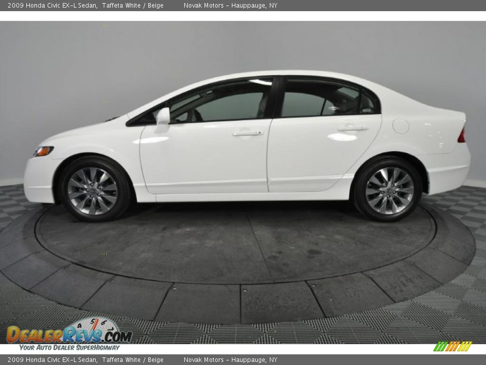 taffeta white 2009 honda civic ex l sedan photo 2. Black Bedroom Furniture Sets. Home Design Ideas