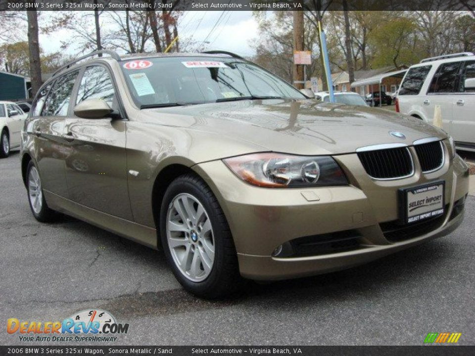 2006 bmw 3 series 325xi wagon sonora metallic sand photo 7. Black Bedroom Furniture Sets. Home Design Ideas