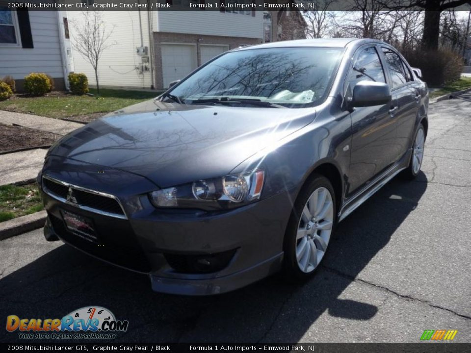 2008 mitsubishi lancer gts graphite gray pearl black photo 1. Black Bedroom Furniture Sets. Home Design Ideas