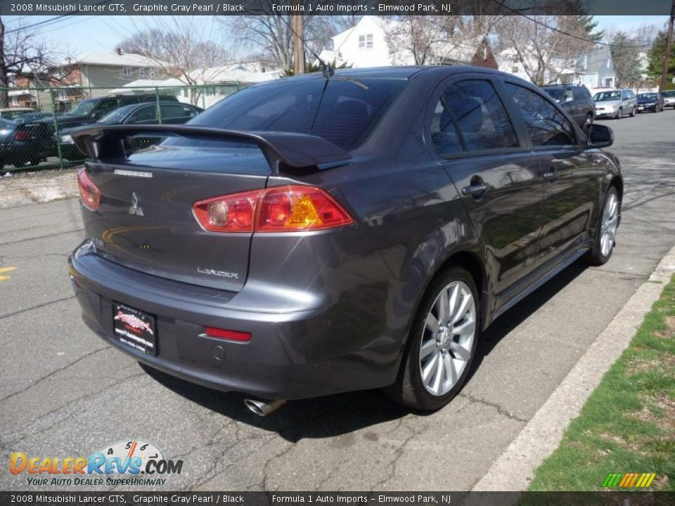 2008 mitsubishi lancer gts graphite gray pearl black photo 3. Black Bedroom Furniture Sets. Home Design Ideas