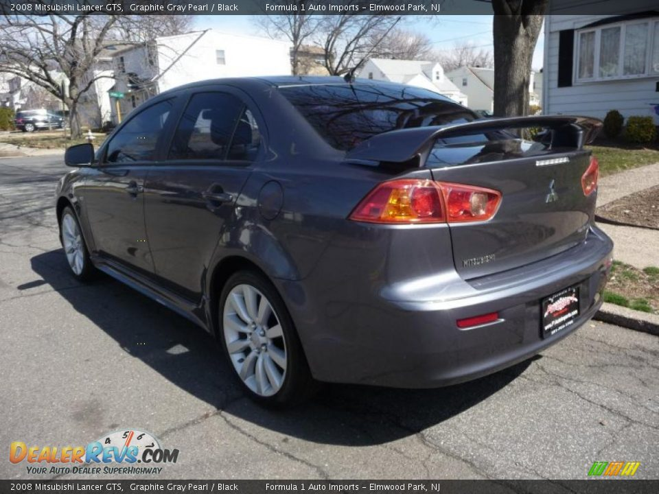 2008 mitsubishi lancer gts graphite gray pearl black photo 4. Black Bedroom Furniture Sets. Home Design Ideas